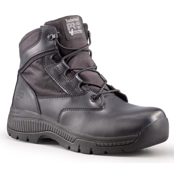 Timberland PRO Valor 6 Inch Side Zip Tactical Boot